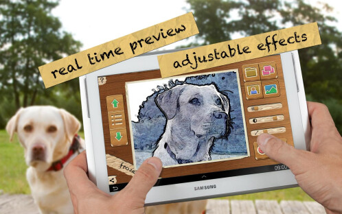 Pencil Camera HD - Android - $1.09 from $1.91