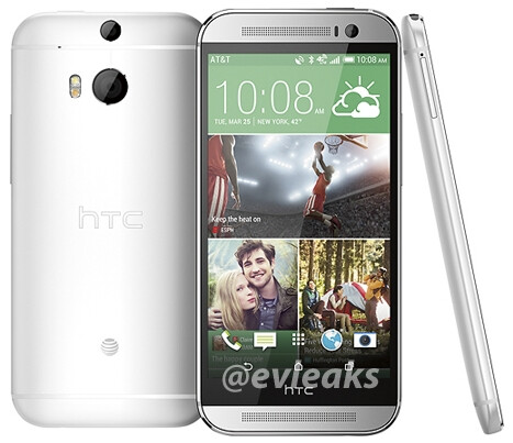 AT&T's HTC All New One / M8 pictured in all its glory