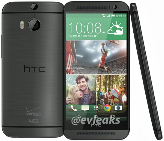 Surprise: here's the All New HTC One / M8 for Verizon