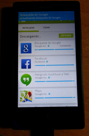 Nokia X hacked to run Google Services