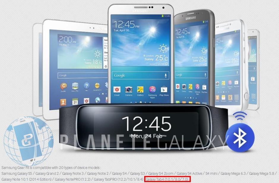 Three Galaxy Tab 4 models confirmed by Samsung?