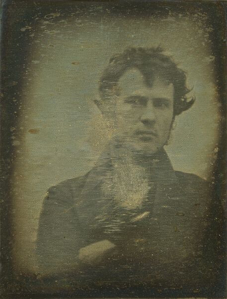 The first known selfie