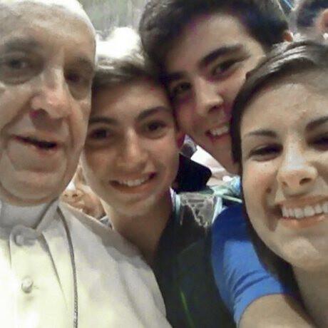 The Pope selfie