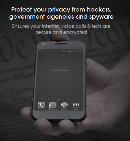 FreedomPop introduces the Privacy Phone