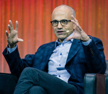 Satya Nadella is going to need a bigger grip to wrap himself entirely around Microsoft