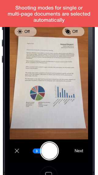 ABBYY FineScanner document scanning app for iOS goes free