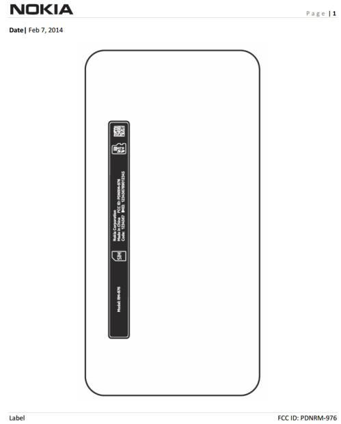 Nokia RM-976 (Lumia 630) at the FCC