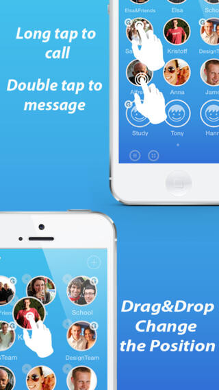 AwesomeDial brings life to your iPhone contacts