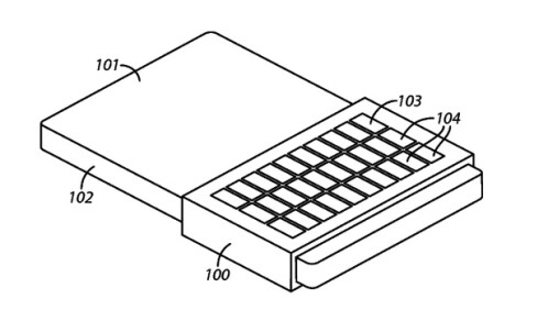 BlackBerry patents temporary QWERTY overlay