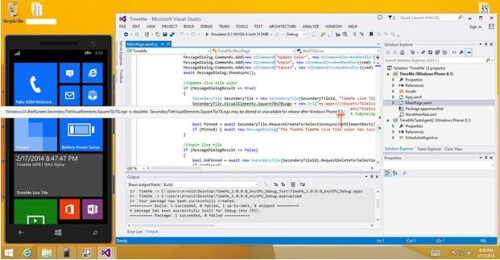 References to Windows Phone 8.5 found in the SDK