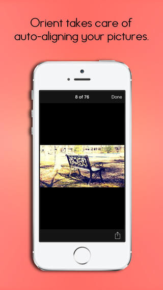 Free iOS app Orient lets you take aligned photos from impossible angles