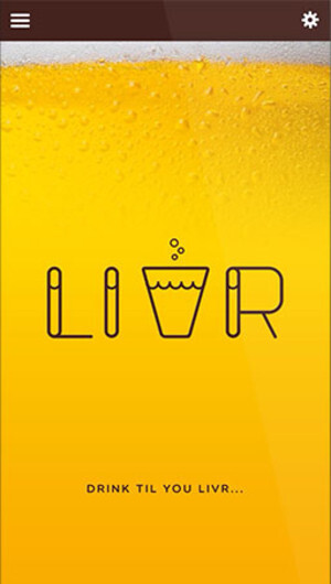 Fueled by alcohol, Livr wants to make social networking fun again