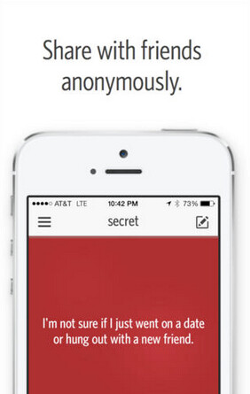 Secret is now valued at $40 million based on the latest financing round - Anonymous iOS messaging app Secret receives $10 million in funding, gets $40 million valuation