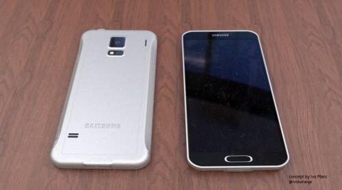 Samsung Galaxy F concept by Ivo Mari�