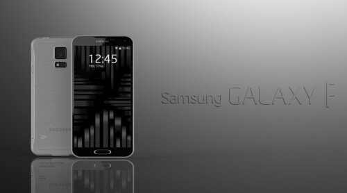 Samsung Galaxy F concept by Ivo Marić