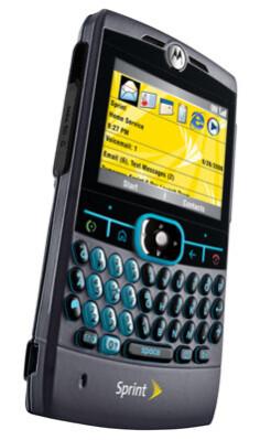 Sprint PCS finally announces Motorola Q
