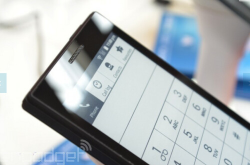 Pictures of the MIDIA InkPhone