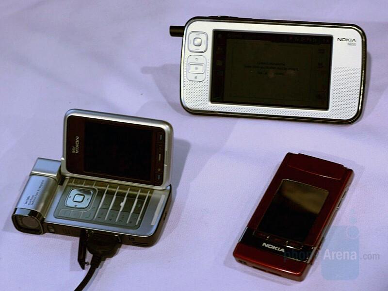 Nokia N93i, N76, N800 Internet Tablet - CES 2007: Live Report