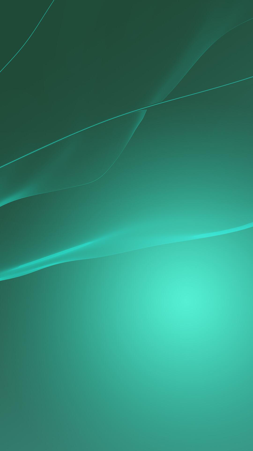 Xperia Z Green Wallpaper Hd