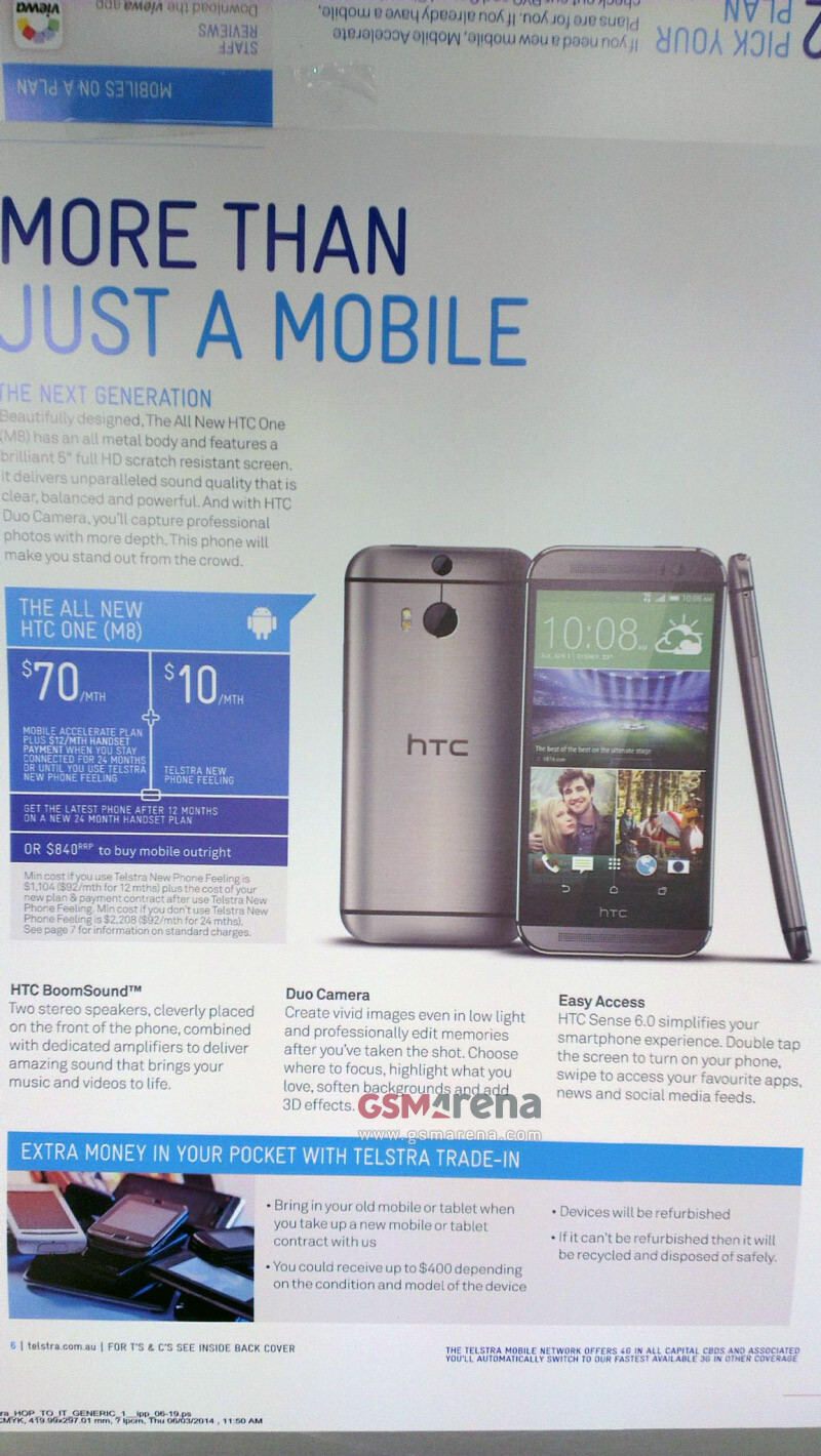 Behold the All New HTC One in this brochure