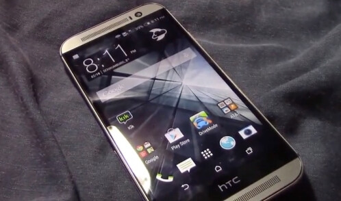 Previously-leaked image of the All New HTC One