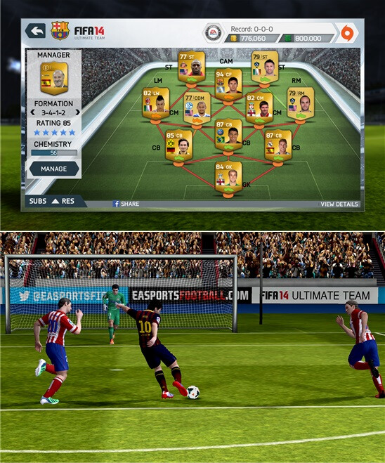 FIFA 14 (Req's 1GB+ RAM) - Free