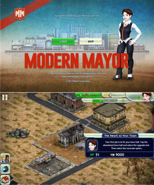 Modern Mayor (only for Lumias) - Free