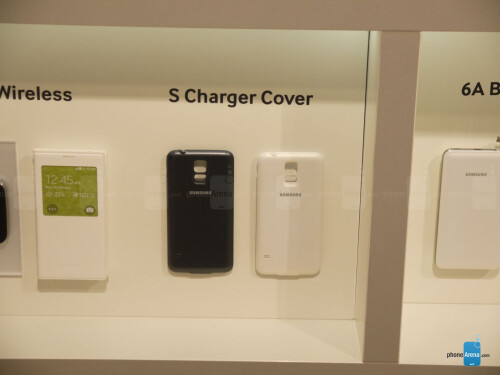 Galaxy S5 S Charging Cover