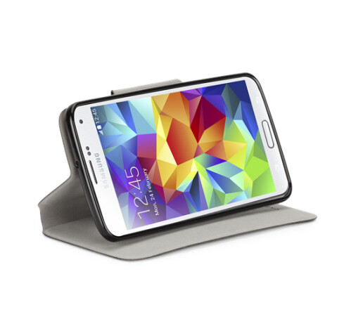 STAND FOLIO CASE for Samsung GALAXY S5 ($40)