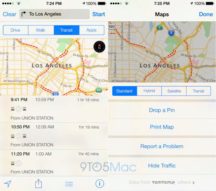 iOS 8 will improve Apple Maps with public transit and maybe augmented reality
