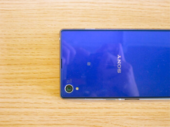 No mistake here -- there's a 5.5-inch OnePlus One unit underneath the Sony Xperia Z1