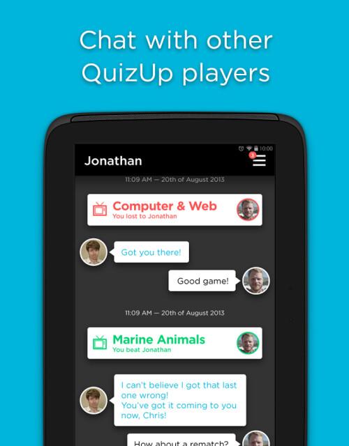 QuizUp screenshots