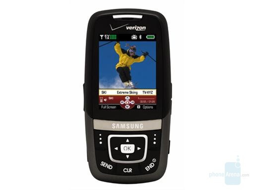 Samsung SCH-U620 - Verizon announced couple of TV phones
