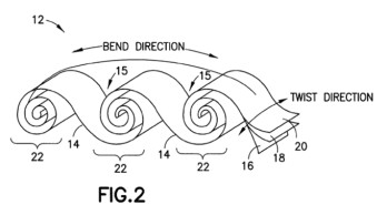Nokia patents a crazy, ribbon-like flexible battery