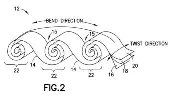Nokia patents a crazy, ribbon-like flexible battery