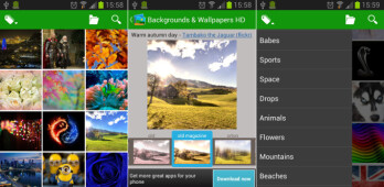Wallpapers & Backgrounds HD for Android app review