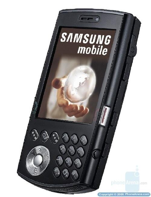 Samsung SCH-i760 - CES 2007: Samsung announces i760 and A727