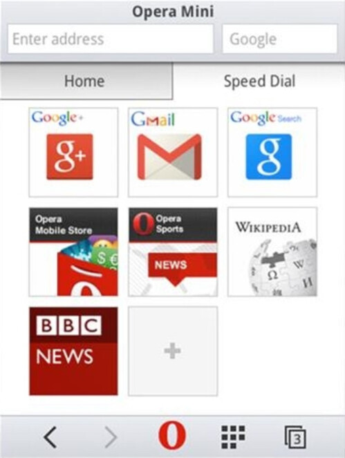 Opera Mini 8 for older handsets brings a new look and three new features