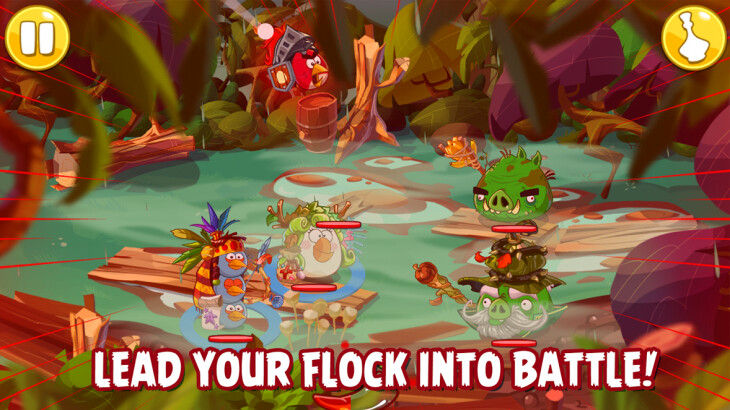 Rovio แย้มตัวอย่าง Angry Birds Epic ผันไปทำแนว turn-based RPG