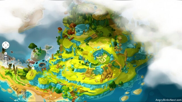 Angry Birds Epic World Overview