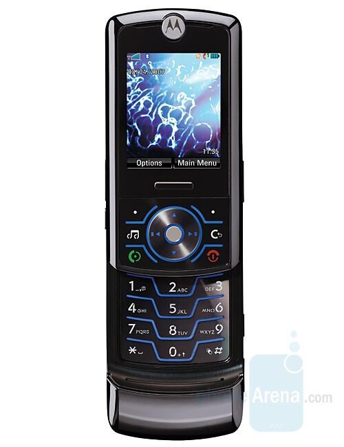 Motorola RIZR Z6 - Motorola Z6 – multimedia stylish slider on Linux