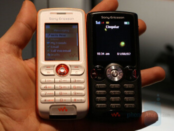 White W200 and Black W810 - Sony Ericsson W200a
