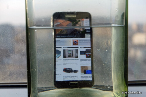 Galaxy S5 water-resistance tests