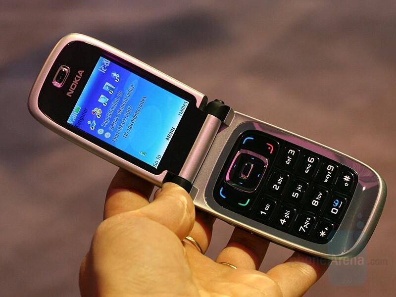 Nokia 6131 NFC - CES 2007: Live Report