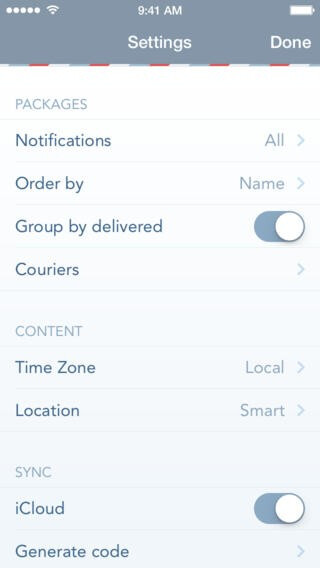Delivered! app for iOS lets you easily track all your packages