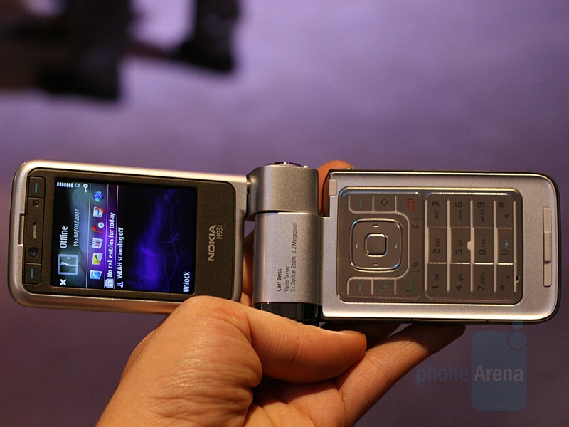 Nokia N93i - CES 2007: Live Report