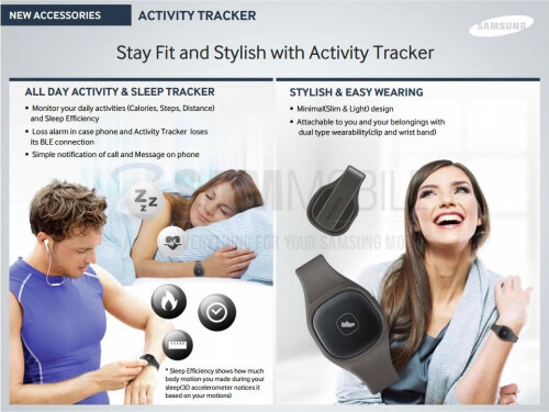 New Samsung S Band activity tracker leaked