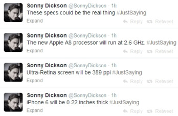 Rumor: iPhone 6 / Air specs to include Ultra Retina screen with 389ppi, 2.6GHz A8 processor, 5.5mm-thin body