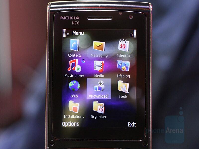 Nokia N76 - CES 2007: Live Report