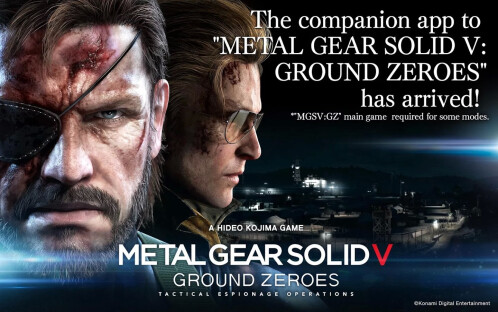 MGS V Ground Zeroes app gallery